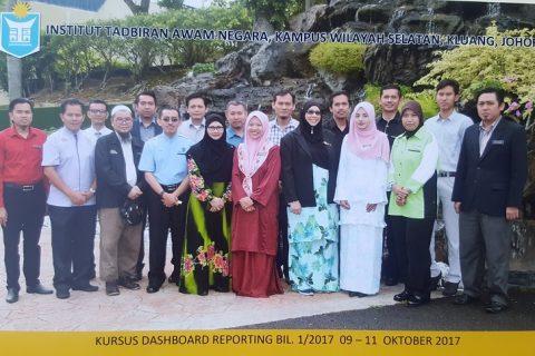 Alhamdulillah – Kursus Dashboard Reporting