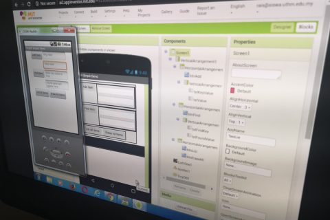 Kursus Rekacipta Aplikasi Android Tanpa Aturcara